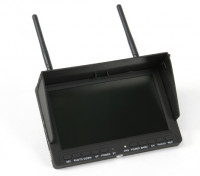 7 Inch 800 x 480 40CH LCD FPV Monitor with built-in DVR SKY-708