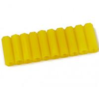 Nylon Spacer 20mm M3 F/F Yellow (10pcs)