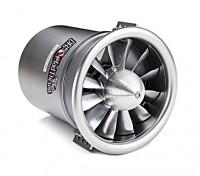Dr. Mad Thrust 90mm 12-Blade All Alloy EDF 1000kv Inrunner Motor 5000watt (10s)