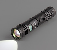SupFire A2 High Power CREE LED Flashlight w/USB Charger