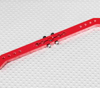 Heavy Duty Alloy 5.1in 23T Pull-Pull Servo Arm - JR (Red)