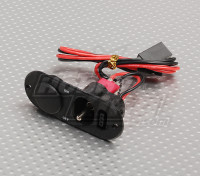 Heavy Duty RX Switch with Charge Port & Fuel Dot Black