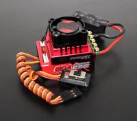 Turnigy Trackstar 80A Turbo Sensored Brushless 1/12th 1/10th ESC (ROAR approved)