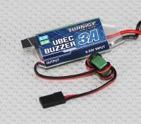 Turnigy 3A UBEC with Low Voltage Buzzer