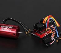 Turnigy TrackStar Waterproof 1/10 Brushless Power System 3000KV/80A
