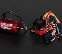 Turnigy TrackStar Waterproof 1/10 Brushless Power System 5200KV/80A