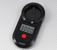 Turnigy LCD Tachometer V2 for Helicopters 800~4200RPM and Airplane Props 0~20000RPM