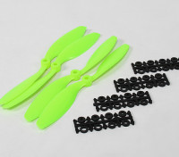 8045 SF Props 2pc CW 2 pc CCW Rotation (Green)