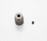 """""""Hard One"""" 0.6M Hardened Helicopter Pinion Gear 5mm Shaft - 23T"""