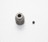 """""""Hard One"""" 0.7M Hardened Helicopter Pinion Gear 6mm Shaft - 21T"""