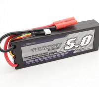 Turnigy 5000mAh 2S 7.4V 60C Hardcase Pack