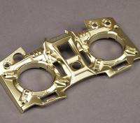 Turnigy 9XR Transmitter Custom Faceplate - Gold