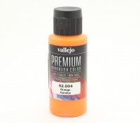 Vallejo Premium Color Acrylic Paint - Orange (60ml) 62.004