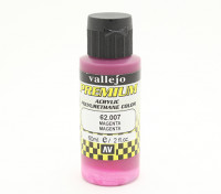Vallejo Premium Color Acrylic Paint - Magenta (60ml) 62.007