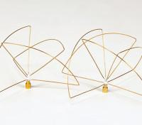 900Mhz Circular Polarized Antenna Set  (RP-SMA) (LHCP) (Short)