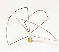 Circular Polarized 1.2ghz Transmitter Antenna (SMA) (LHCP) (Short)