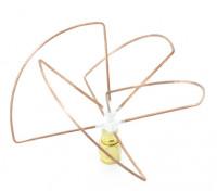 2.4GHz Circular Polarized Antenna RP-SMA Receiver Only (Short)