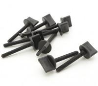 Nylon Thumbscrew Wing Bolt M4x30 (10pcs)