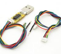 USB FTDI Flash Stick for Micro and Mini MWC Flight Controller with Cables (Multi Wii)