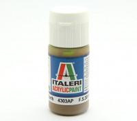 Italeri Acrylic Paint - Flat Dark Earth  (4303AP)