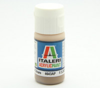 Italeri Acrylic Paint - Flat Nocciola Chiaro (4643AP)