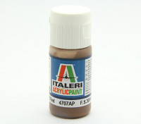 Italeri Acrylic Paint - Flat Earth Red (4707AP)