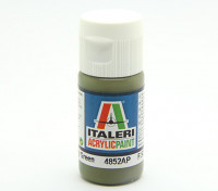 Italeri Acrylic Paint - Flat Military Green (4852AP)