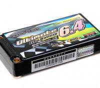 Turnigy nano-tech Ultimate 6400mah 1S2P 90C Hardcase Pack (ROAR & BRCA Approved)