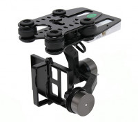 Quanum Q-2D Brushless GoPro 3 Gimbal (suitable for Nova, Phantom, QR X350 and others)