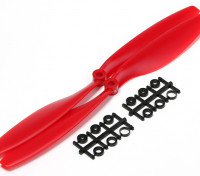 Turnigy Slowfly Propeller 10x4.5 Red (CCW) (2pcs)