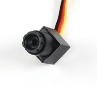Mini CMOS FPV Camera 520TVL 90 deg Field Of Vision 0.008LUX 11.5 x 11.5 x 21mm (PAL)