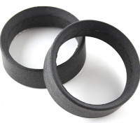 Team Sorex 24mm Molded Tire Inserts Type-B Firm (2pcs)