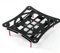 HobbyKing™ Miniquad Cruiser/Racer Carbon Composite Frame Kit