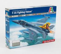 Italeri 1/48 Scale F-16 Fighting Falcon Plastic Model Kit
