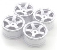 Sweep Mini 5 Spoke Wheel Type A - White (4pcs)