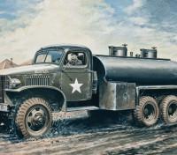 Italeri 1/35 Scale 2.5 Ton 6x6 Water Tank Pastic Model Kit