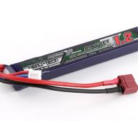 Turnigy nano-tech 1200mAh 2S 25~50C Lipo AIRSOFT Pack (T-Connector)
