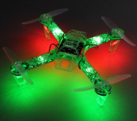 HobbyKing FPV250 V4 Green Ghost Edition LED Night Flyer FPV Drone (Green) (Kit)