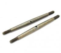 TrackStar 1/8 Spring Steel Turnbuckle M4x75 (2pcs)