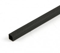 Carbon Fibre Square Tube 10 x 10 x 500mm