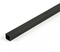 Carbon Fibre Square Tube 15 x 15 x 500mm
