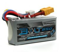 Turnigy Bolt 850mAh 4S 15.2V 65~130C High Voltage Lipoly Pack (LiHV)
