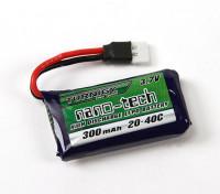 Turnigy nano-tech 300mAh 1S 20~40C Lipo Pack (Losi Mini Compatible)
