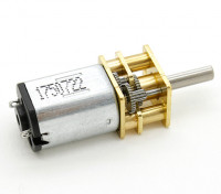 Brushed Motor 15mm 6V 20000KV w/ 10:1 Ratio Gearbox