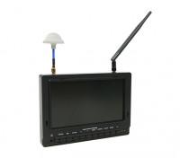 7 inch 800 x 480 40CH Diversity Receiver Sun Readable FPV Monitor Fieldview 777SB (UK plug)