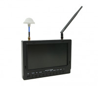 7 inch 800 x 480 40CH Diversity Receiver Sun Readable FPV Monitor Fieldview 777SB (AU Plug)