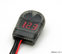 Turnigy Lipo Battery Voltage Tester 2-8S and Low Voltage Buzzer Alarm