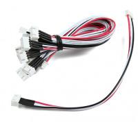 JST-XH 3S Wire Extension 20cm (10pcs/bag)