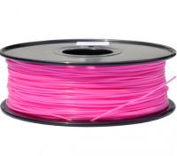 HobbyKing 3D Printer Filament 1.75mm PLA 1KG Spool (Hot Pink)