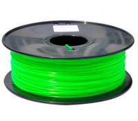 HobbyKing 3D Printer Filament 1.75mm PLA 1KG Spool (Translucent Green)